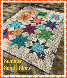 Summer Sand and Stars Quilt ~ Moda Bake Shop