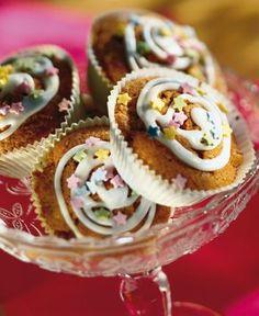 Hedelmäiset piparimuffinit | K-ruoka #lastenkutsut