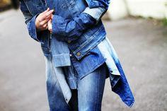 Jeans nosso de cada dia! #jeans #totaljeans #blue #blackbull #blackbullstore #gramado #destroyed