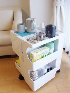 Office Furniture: Joe Colombo Boby Storage Trolley Organizer
