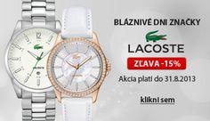 Lacoste, Skagen, Hugo Boss, Marc Jacobs, Michael Kors, Watches, Accessories, Fashion, Moda