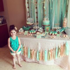 Under the Sea/ Mermaid Birthday Party Ideas | Photo 9 of 55 | Catch My Party