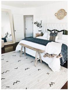 Blue Bedroom, Cozy Bedroom, Home Decor Bedroom, Bedroom Apartment, Summer Bedroom, Cozy Master Bedroom Ideas, Bedroom Kids, Bedroom Neutral, Bedroom Rustic