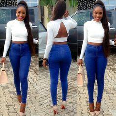 """onlyfashionoutfit: """"@_komee #Nollywoodglamour #beautiful #glamglam #glamlook #golook #love #lookofthday #lookbook #style #styleinspiration #fashioninspiration #fashion #ootdmagazine #ootd..."""