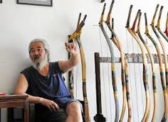 traditional Chinese archery - last traditional bow maker in China.