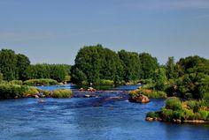 Kyrönjoki river. Ostrobothnia province of Western Finland. Vähäkyrö, Pohjanmaa,- photo Eeku Strahl-