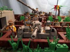"""lego ww2 Moc """"battle of the bunker"""""""