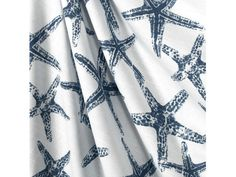 """Designerstoffe USA - """"SEESTERN"""" Baumwollstoff blau maritim... - ein Designerstück von Premier-Prints-Stoffe bei DaWanda"""