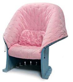 GAETANO PESCE (né en 1939) Fauteuil Grand Feltri, créé en 1987. Fauteuil à st Study Architecture, Interior Architecture, Interior Design, Art Et Design, Modern Design, Vitra Design Museum, Take A Seat, Home Textile, Rocking Chair