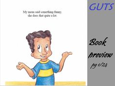 Guts by Christine Reynebeau      #children #parenting #lessons #trust #intuition #books