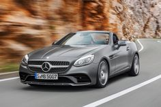 Goodbye SLK, hello SLC: Mercedes' entry-level roadster drops ahead of Detroit debut