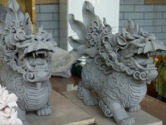 Clay Dragons (Mythological Creatures/Monsters)