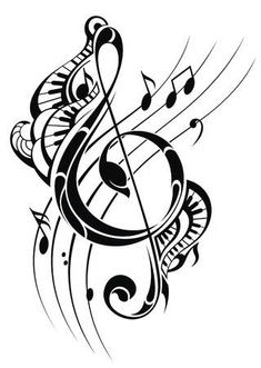 tattoo stencils free to print Music Notes Music Tattoo Designs, Music Tattoos, Guitar Tattoo Design, Music Drawings, Music Artwork, Tatuagem Diy, Music Notes Background, Music Notes Art, Note Tattoo