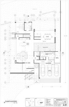 Casa Concreto,Planta baja