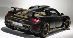 gemballa porsche carrera mirage gt  car black wallpaper