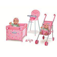 Graco Room Full of Fun Baby Doll Playset - Multi Dot