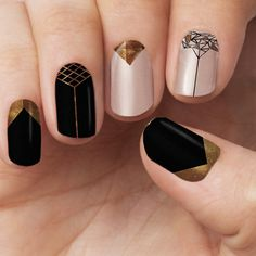 This design includes: - The most glamourous and glitzy nails to bring in 2016 - Both glitter and transparent effects Each pack includes - 16 Double Ended Nail Polish Wrap - Cuticle Pusher - Nail Filer