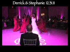 """Bride Surprises Groom With """"Love On Top"""" Dance At Wedding Reception!!"""