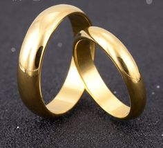 Simple Engagement Wedding Couple Rings Lovers Set Gold Plated Rings for Men Women His and Her Promise Anniversary Jewelry ring boho fashion for teens vintage wedding couple schmuck verlobung hochzeit ring Engagement Rings Couple, Round Diamond Engagement Rings, Couple Rings, Wedding Engagement, Simple Wedding Bands, Wedding Rings Sets Gold, Promise Rings For Couples, Rings For Men, Ring Designs