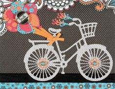 Bicycles in the summer, Bicycles in the spring, Bicycles for birthdays, Bicycles for any season! This adorable Bicycle and accent cutting dies by Hot Off the Press are extremely versatile and perfect for card making, scrapbook pages, tags, and paper crafts! This adorable cutting die set can be found at PaperWishes.com