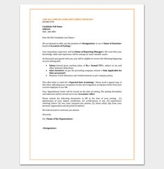 employee appointment letter template for word doc pdf format writing professional letters