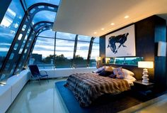 London penthouse....