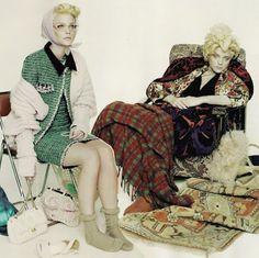 "archivingeverything:  Jessica Stam / ""Spent!"" / Pop Magazine..."