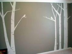 Ideas Tree Mural Nursery Diy Wall Decor For 2019