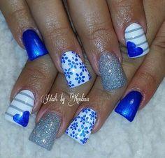 Acrylic nails by Kristina