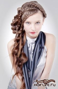 Braid hairstyle Beehive Hairstyles, Unique Braided Hairstyles, Top Braid, Braid Styles, Braids, Dreadlocks, Beauty, Bang Braids, Braid Hairstyles