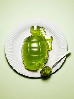 "food art  ""Soft Guerilla"" by Kyle Bean - www.kylebean.co.uk/portfolio/"