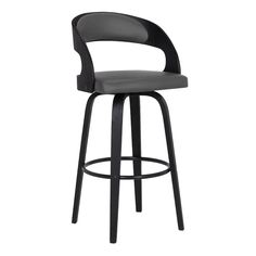 Armen Living Shelly Grey Counter Upholstered Swivel Bar Stool at Lowe's. The Armen Living Shelly contemporary swivel barstool features an optimal balance of durability, comfort, and fashion forward thinking. Leather Swivel Bar Stools, Grey Bar Stools, Wooden Bar Stools, Swivel Counter Stools, Bar Counter, Kitchen Stools, Kitchen Island, Thing 1, Nebraska Furniture Mart