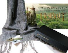 Hobbit Gandalf Scarf by Stansborough weavers.