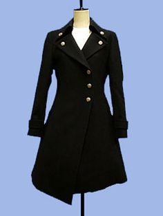 Coat from Moi-meme-Moitie. Asymmetrical coats are my new obsession.