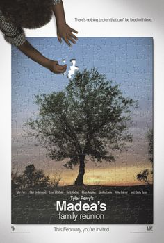 Madea's Family Reunion , starring Tyler Perry, Blair Underwood, Lynn Whitfield, Boris Kodjoe. While planning her family reunion, a pistol-packing grandma (Perry) must contend with the other dramas on her plate, including the runaway who has been placed under her care, and her love-troubled nieces. #Comedy #Drama #Romance