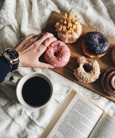 T R I F L I N G T H I N G S - Eating more doughnuts & drinking more coffee than...