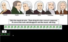 classical composers - flash game - free!