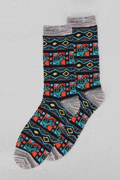 Geo Pattern Sock