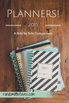 Planner Reviews: How the Best Ones Stack Up! - random little faves