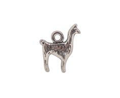 Adorable silver alpaca charm is added to the Touch Clutch Purses.