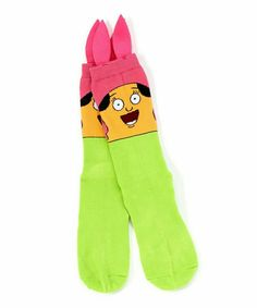 Look at this Bob's Burgers Louise Face Socks - Adult Bobs Burgers Louise, Tina Belcher, Favorite Tv Shows, My Favorite Things, Bob S, Cool Style, My Style, My Spirit Animal, Fashion Quotes