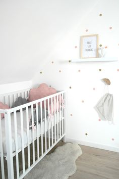 New Ideas for baby girl nursery twins room ideas Baby Room Diy, Baby Bedroom, Baby Room Decor, Kids Bedroom, Girl Nursery Colors, Baby Room Colors, Nursery Twins, Pink Room, Little Girl Rooms