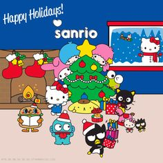 Happy Holidays to you from your friends at Sanrio​!