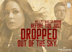 My life was so boring before you just dropped out of the sky.       Amelia Pond & Rory Williams