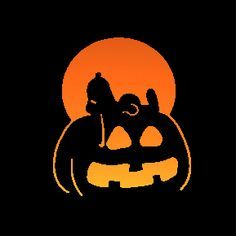 peanuts pumpkin printable carving patterns - Google Search