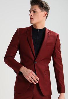 topmann red blazer