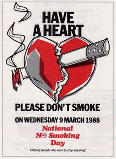 No Smoking - Poster ideas for NIFT, NID, CEED Entrance Exam