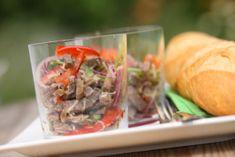 Rezept: Rindfleisch-Salat mit Paprika