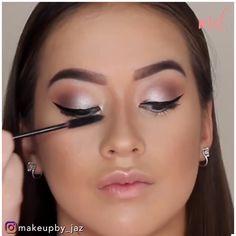 Wedding Makeup Tutorial, Makeup Looks Tutorial, Clean Makeup, Simple Makeup, Nose Makeup, Bridal Eye Makeup, Everyday Makeup Tutorials, Glamour Makeup, Beauty Makeup Tips