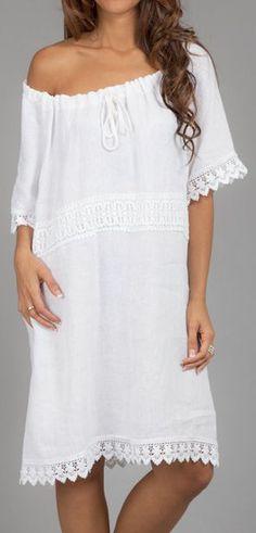 Gorgeous White Summer Dress